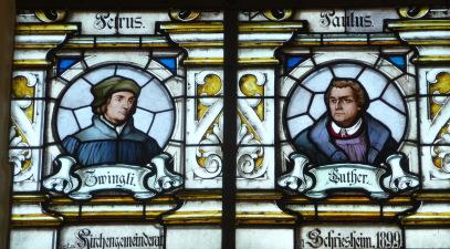 Zwingli und Luther